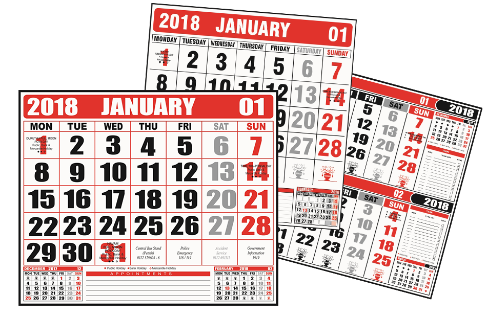 view 2019 office calendars